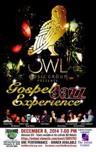 owl music december 8 gospel jazz