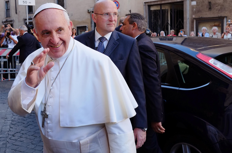 ITALY-POPE-JESUITS