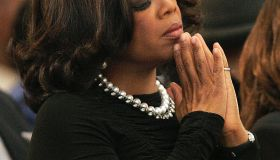US television personality Oprah Winfrey