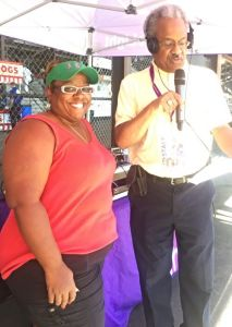 Amos at 2015 Indiana State Fair