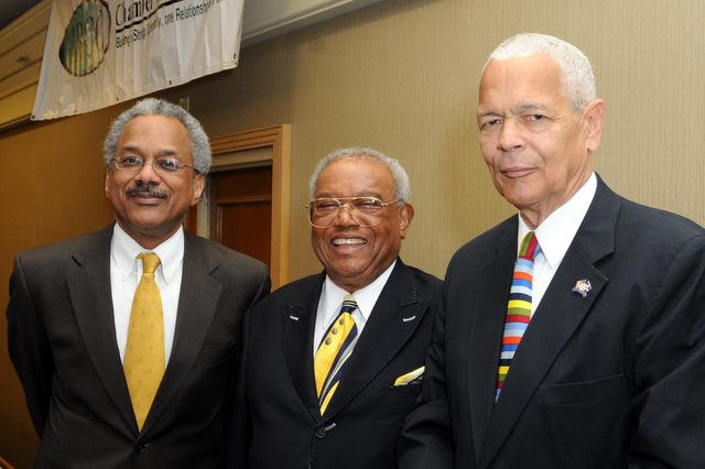 Bill Crawford & Julian Bond & Amos