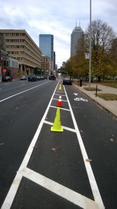 new pennsylvania st bike lanes