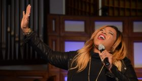 Tasha Cobbs, Kierra Sheard & Bishop William Murphy at ONE PLACE LIVE Tour ATL!