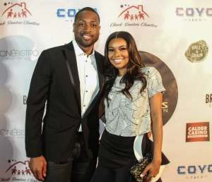 D Wade Jr And Sr Host ProPops Foundations 10th Anniversary Fundraiser