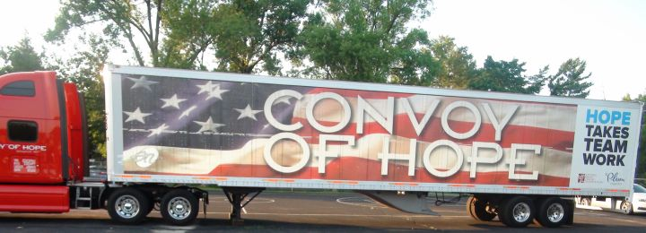Convoy of Hope Kickoff