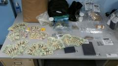 Narcotics Bust at Word of Mouf Barbershop at 3851 N Kevin Way Indpls 092716