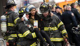 Long Island Railroad Train Derails At Atlantic Terminal In Brooklyn, Multiple Injuries Reported