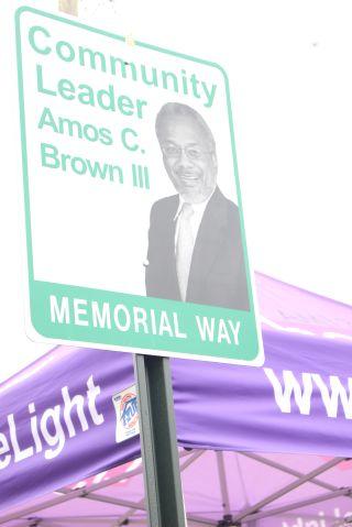 Amos Brown Dedication