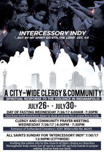 Intercessory Indy Flyer