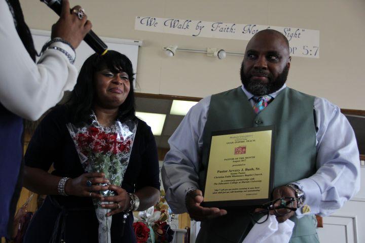 August Pastor of the Month: Pastor Arvery J. Bush Sr.