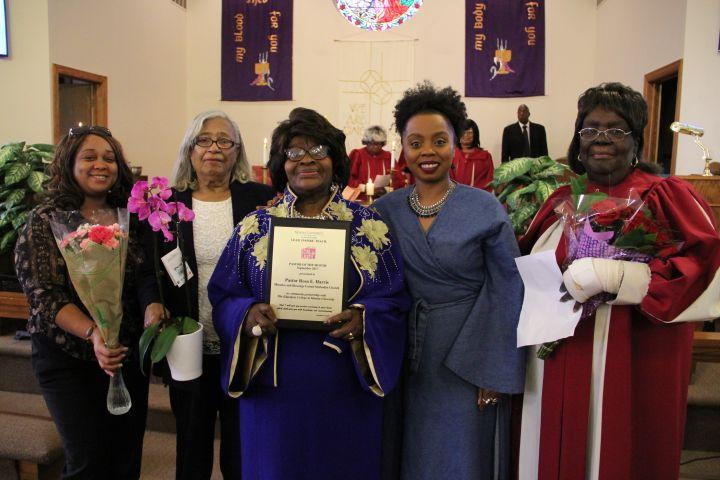 September Pastor of the Month: Pastor Rosa E. Harris