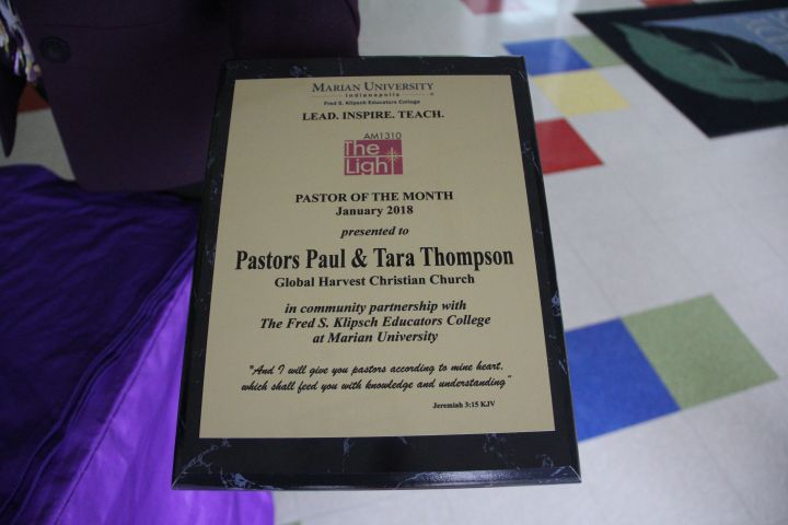 January Pastor of the Month: Pastors Paul & Tara Thompson Photos