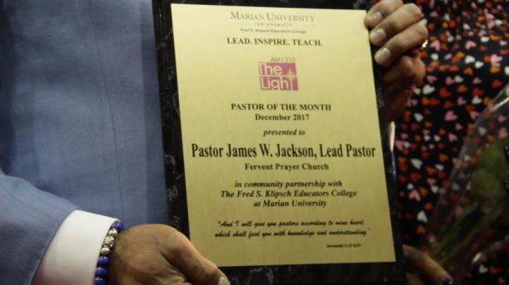December Pastor of the Month Photos