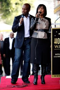 BeBe And CeCe Winans Hollywood Walk Of Fame Induction Ceremony