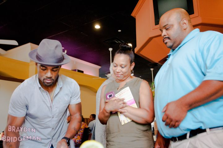 Willie Moore Jr's Indy Book Signing