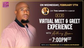 Virtual Meet & Greet Experience With Gospel Star Anthony Brown