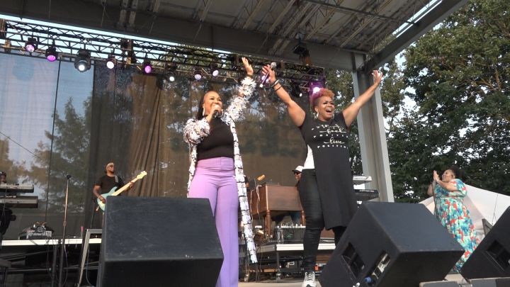 Mary Mary at the Indiana State Fair