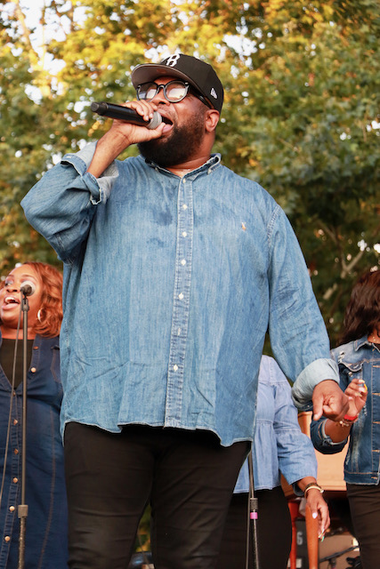 Hezekiah Walker At The Indy State Fair